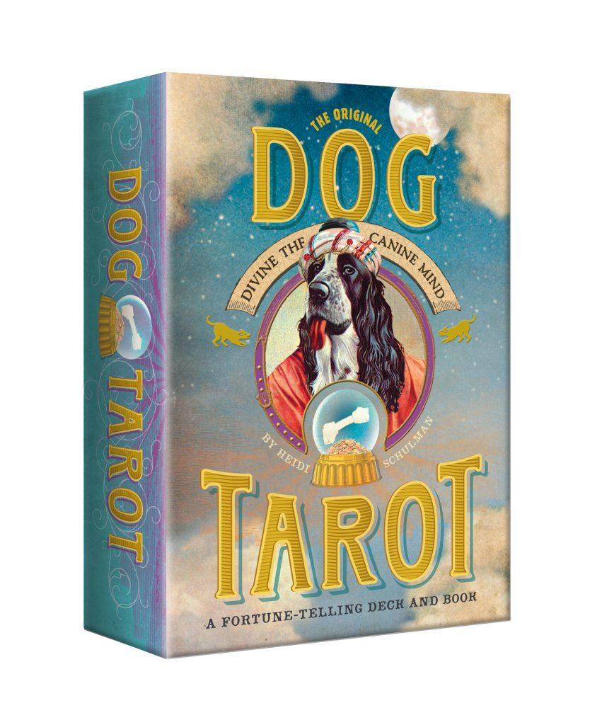 Dog Tarot Box by Marty Blake