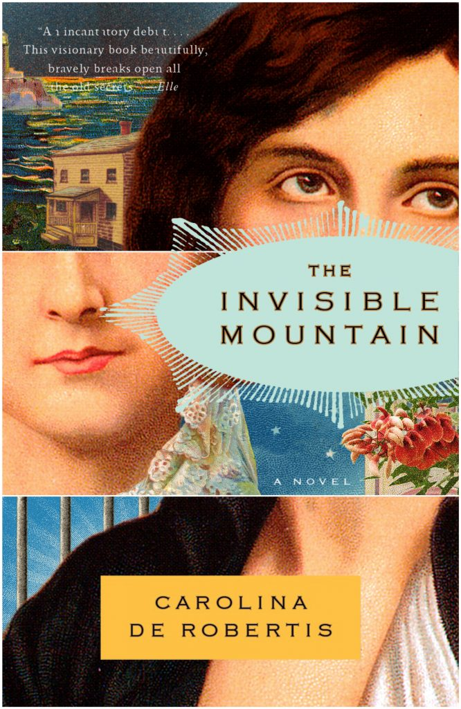 The Invisible Mountain book cover illustration by Marty Blake