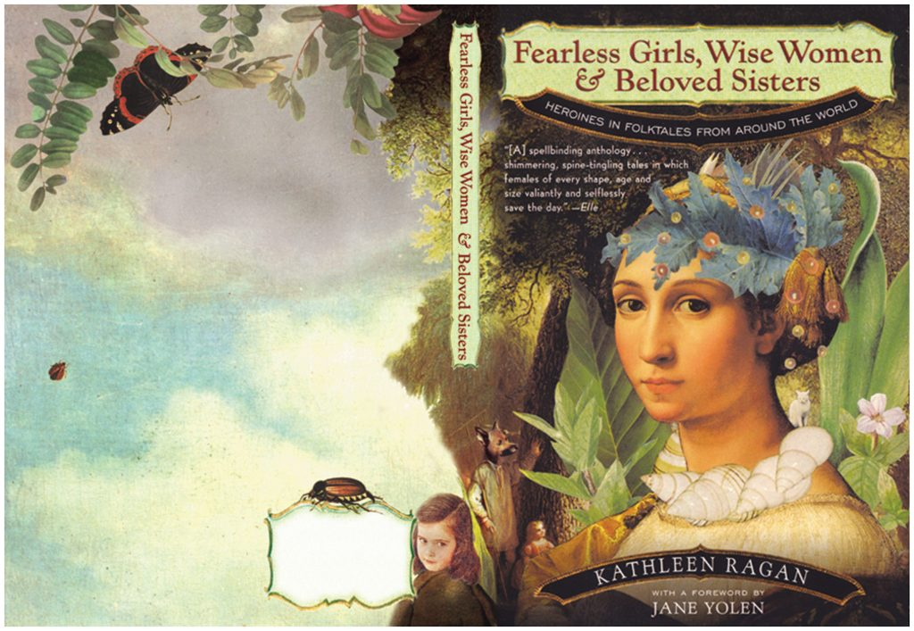 Fearless Girl book cover illustration by Marty Blake